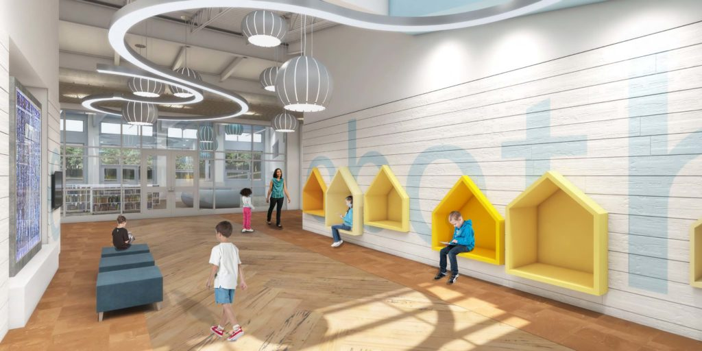 Project lighting design - Rehoboth Elementary School, Delaware