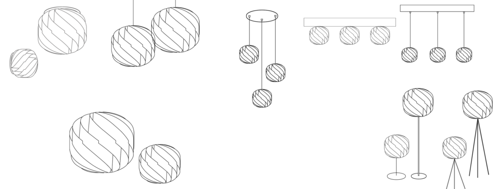 Linea Zero draft products