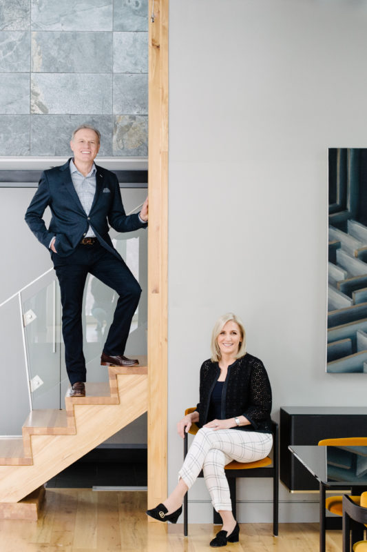 Robert and Florence Pietrobon the founders of Zaneen Lighting