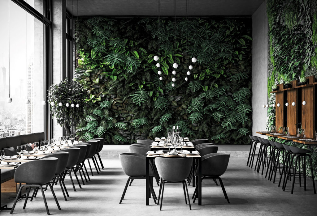 Architectural interior lighting for hospitality settings