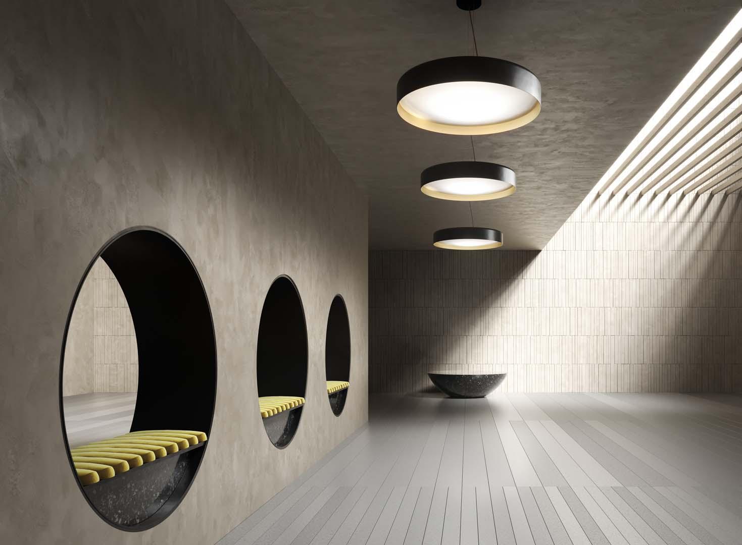 Ginevra by Panzeri - Design hanging lights